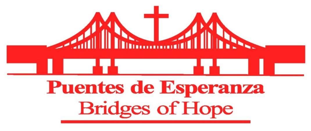 Puentes de Esperanza: Bridges of Hope Logo